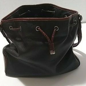 Fossil Western Bucket Shoulder Bag